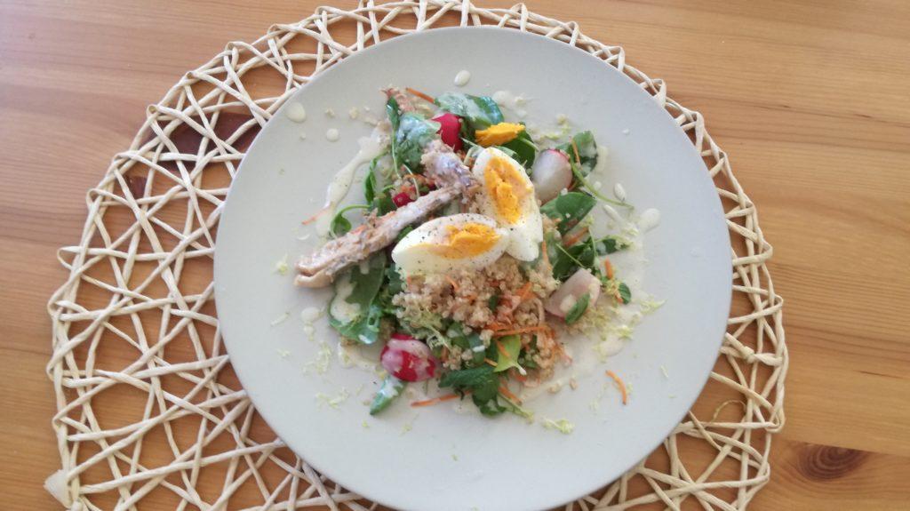 Receta de Beewellness: Tabbouleh de quinoa