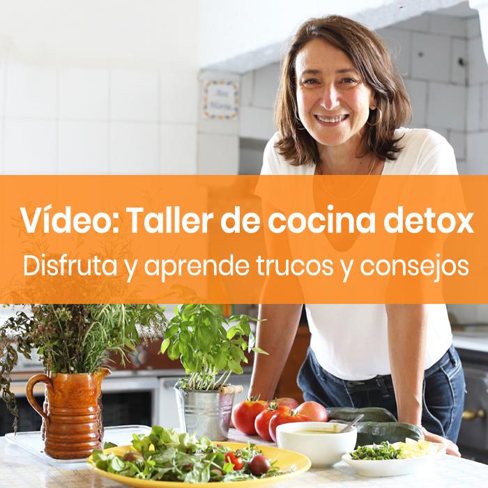 Vídeo taller de cocina detox con Beewellness